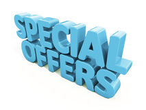 3d Special offers Royalty Free Stock Photography