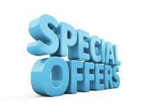 3d Special offers Royalty Free Stock Photo
