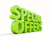 3d Special offers Royalty Free Stock Image