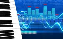 3d spectrumspatie Stock Foto's
