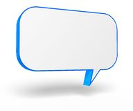 3d speech bubble Royalty Free Stock Images