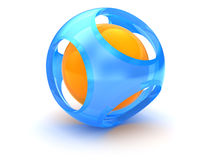 3d sphere Stock Photography