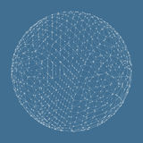 3d sphere. Global digital connections. Technology Stock Photos
