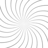 3d spiral effect. Abstract background. Vector illustration. Good design Vector Illustration