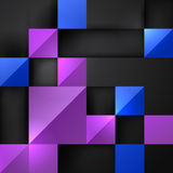 3d square background Stock Photo
