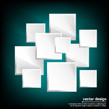 3d square background Royalty Free Stock Photography