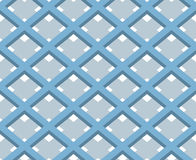 3D Square Box Net, Vector Seamless Pattern Background. Stock Photography