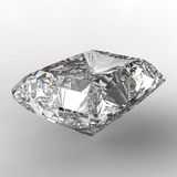 3d Square cut diamond Stock Photo