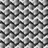 3d square mosaic seamless pattern. Stock Image