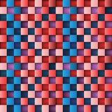 3d square mosaic. Vintage texture. Vector illustration eps 10 Stock Photos
