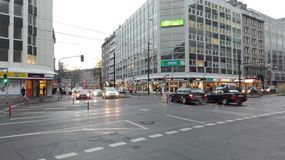 DÃ-¼ sseldorf Stadt Lizenzfreie Stockfotos