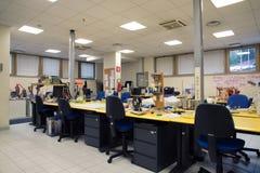 3D stampa - il FabLab scientifico italiano Immagine Stock Libera da Diritti