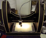 3D stampante - stampa di FDM Fotografie Stock Libere da Diritti