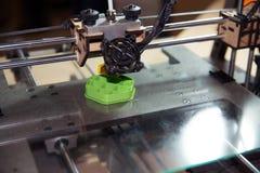 3D stampante - stampa di FDM Fotografia Stock Libera da Diritti