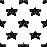 3d star icon. Element of Stars icons for mobile concept and web apps. Pattern repeat seamless 3d star icon can be used for web and. Mobile apps on white Stock Photography