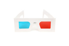 3D stereo glasses Royalty Free Stock Photography