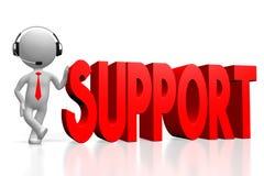 3d steunconcept Royalty-vrije Stock Afbeelding