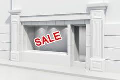 3d store shopfront Stock Image