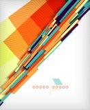 3d straight lines geometric shape background. 3d straight lines geometric shape abstract background Stock Photo