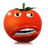 3d Strange tomato Royalty Free Stock Images