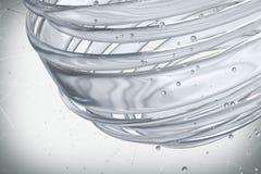 3D striped decorative balls. Stock Image