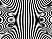 3d Striped monochrome axis Stock Images
