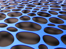 3D structural mesh organic background Stock Photography
