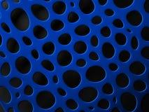 3D structurele netwerk organische achtergrond Royalty-vrije Stock Foto's
