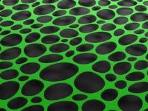 3D structurele netwerk organische achtergrond Stock Fotografie