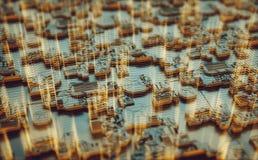 3D Structuur Abstracte Achtergrond Royalty-vrije Stock Afbeelding