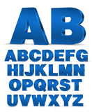 3D style font Stock Image