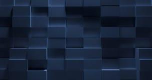 3D Stylish Blue Metal Background Stock Photos