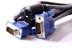 D-sub plug Royalty Free Stock Photo