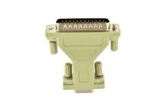 D-Sub plug-and-socket adapter Royalty Free Stock Photos