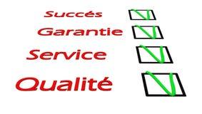 3d succes questionnaire Royalty Free Stock Images
