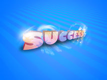 3d success graphics Royalty Free Stock Photo