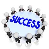 3d sukcesu pojęcie ilustracja wektor