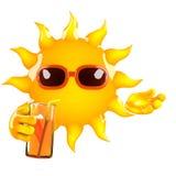 3d Sun party Stock Images