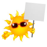 3d Sun protests Royalty Free Stock Images