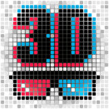 3d symbol Obraz Royalty Free