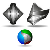 3d symbol creative design Stock Photography