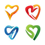 3d symbol love stock photos