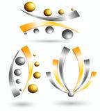 3d symbool creatief ontwerp Stock Afbeeldingen