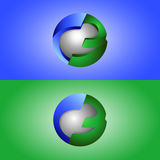 3d symbool creatief ontwerp Royalty-vrije Stock Fotografie
