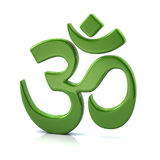 3D Symbool van het Hindoeïsme Royalty-vrije Stock Afbeeldingen