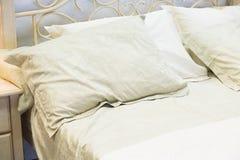 3 d sypialni otoczenia wewnętrznej pozbawione piorun Obrazy Royalty Free