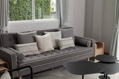 3 d sypialni otoczenia wewnętrznej pozbawione piorun Obraz Stock