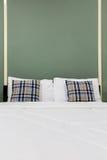 3 d sypialni zielone projektu wnętrze Zdjęcia Royalty Free