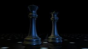3d szachy Obraz Stock
