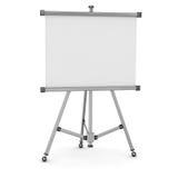 3d tömmer whiteboard Royaltyfri Foto